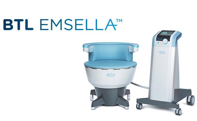 Tratamentul incontinentei urinare cu fotoliul BTL Emsella